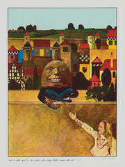 Peter Blake humpty dumpty through the looking glass alice in wonderland signed prints