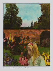 Peter Blake Alice in wonderland prints for sale