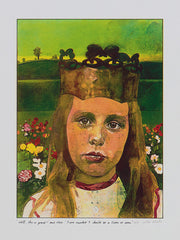 Peter Blake alice in wonderland illustrations print fr sale