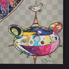 Takashi Murakami signed original prints
