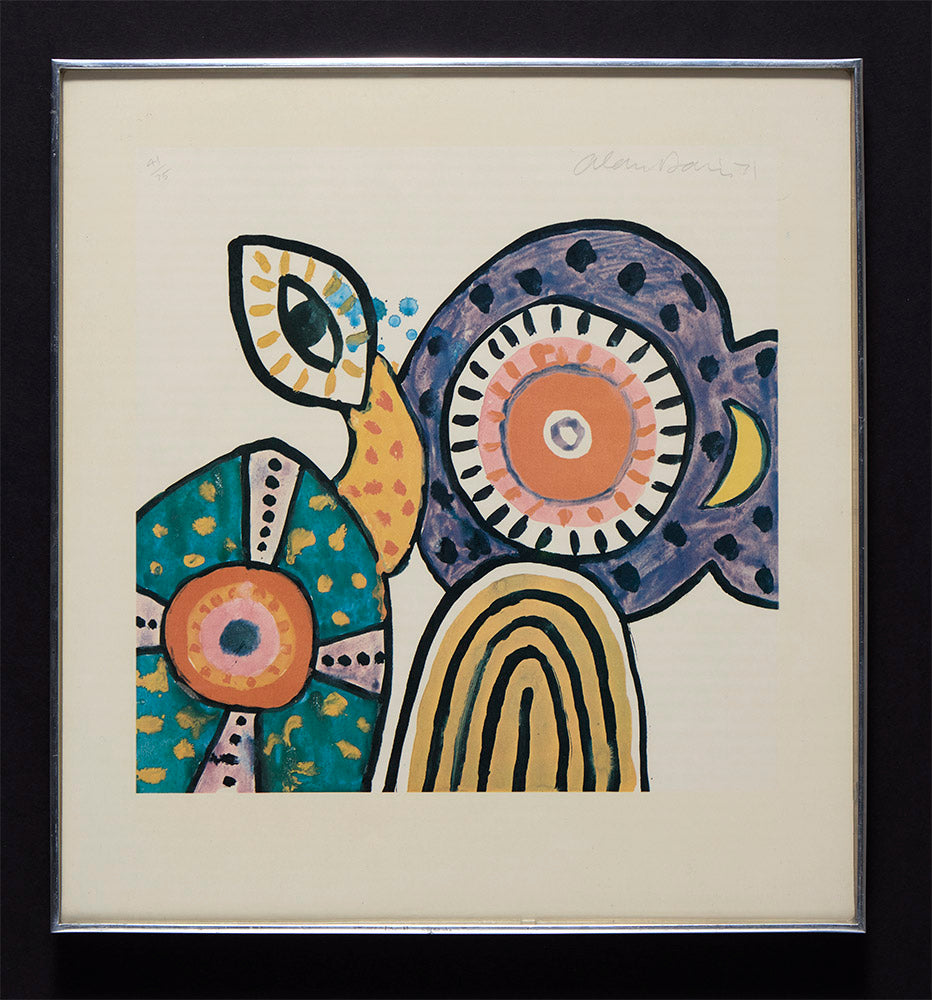 Alan Davie framed print for sale