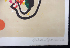 Alan Davie artist signature