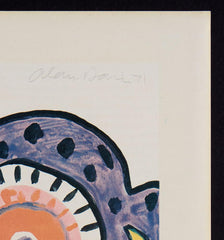 Alan Davie signed print