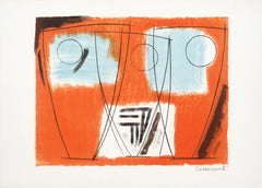 barbara hepworth three forms lithograph