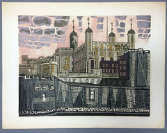 Tower of London edward bawden