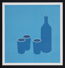 Bottle and Cups 1966 Patrick Caulfield