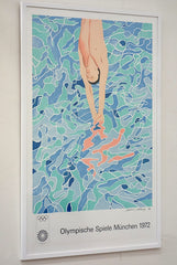 David Hockney Munich Olympics poster
