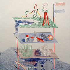 david hockney lithographs