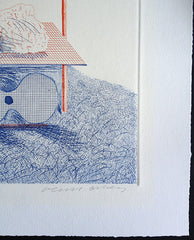 david hockney signed print