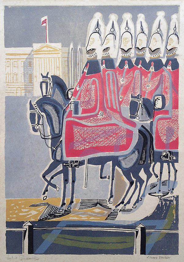 Edward Bawden Life Guards