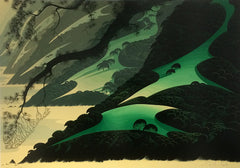 Eyvind Earle Big Green Sur