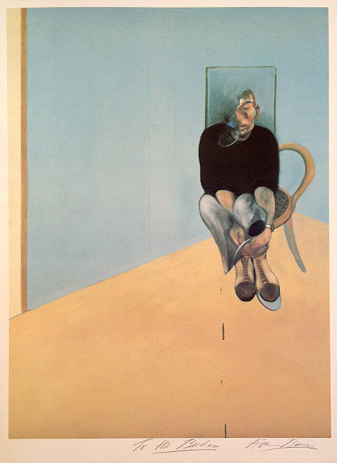 Francis Bacon Study for Self Portrait 1982