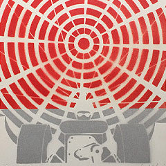 Gerald Laing original stencil spray