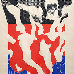 gerald laing screenprint