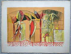 Graham Sutherland Maize lithograph