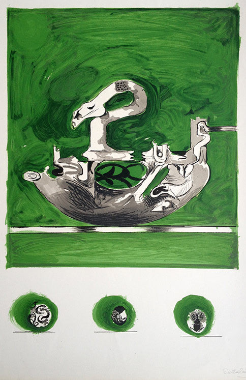 Graham Sutherland Swan Like Form