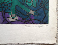 Helen Phillips artist signature