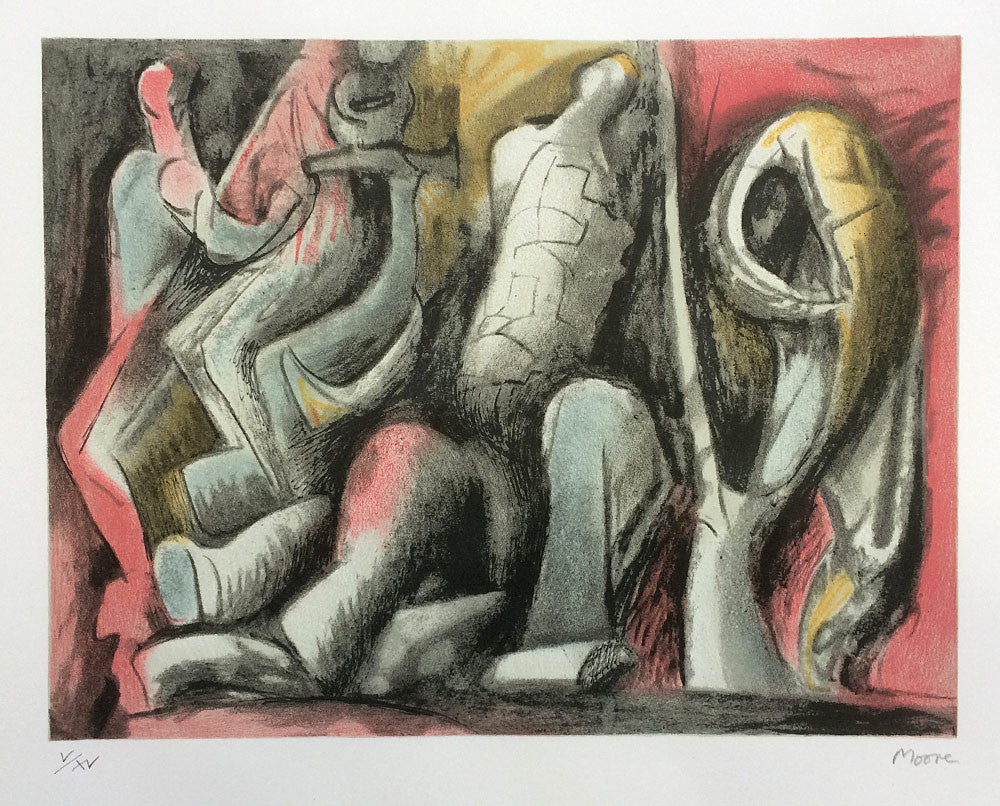 Henry Moore Four Studies for Sculpture