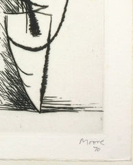 henry moore signed