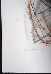 Barbara Hepworth early signed print