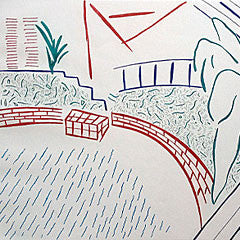 hockney david prints