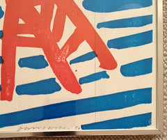 David Hockney signature