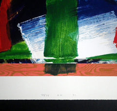 Howard Hodgkin signed print