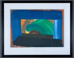 Howard hodgkin gossip framed print