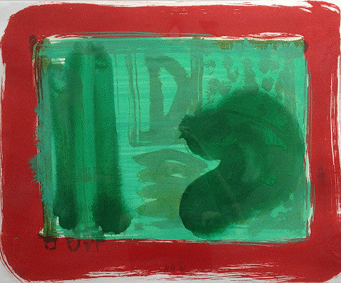 Howard Hodgkin Green Room 1986