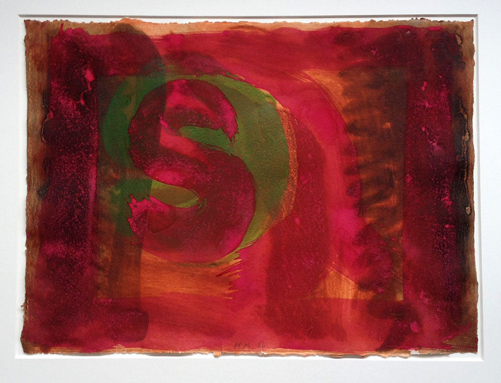 howard hodgkin red listening ear