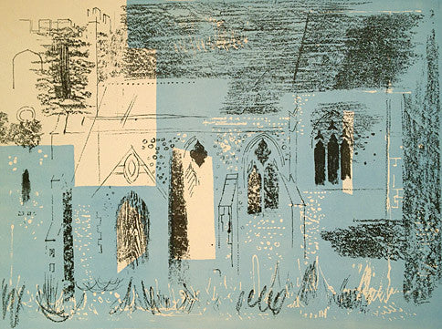 John Piper, Lewknor Oxfordshire 1964