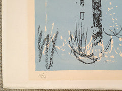 John Piper signed limited edition print