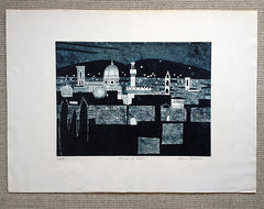 Julian Trevelyan Florence at Night 1964