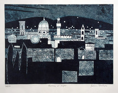 Julian Trevelyan Florence at Night
