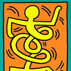 Keith Haring poster uk