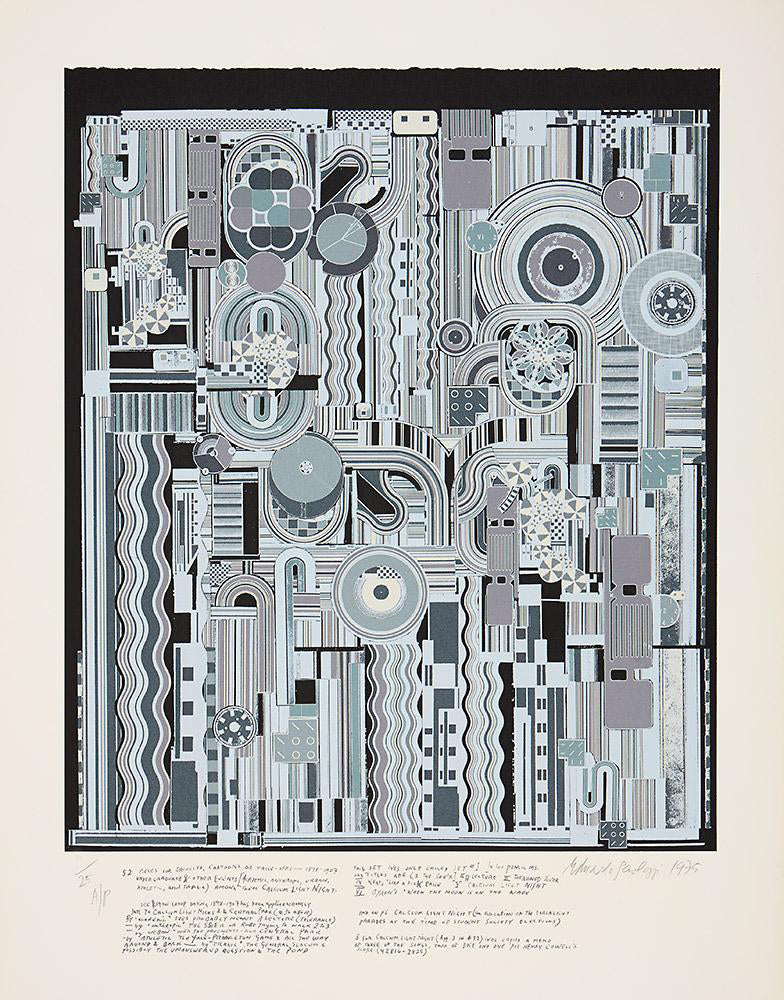 Eduardo Paolozzi From Early Italian Poets