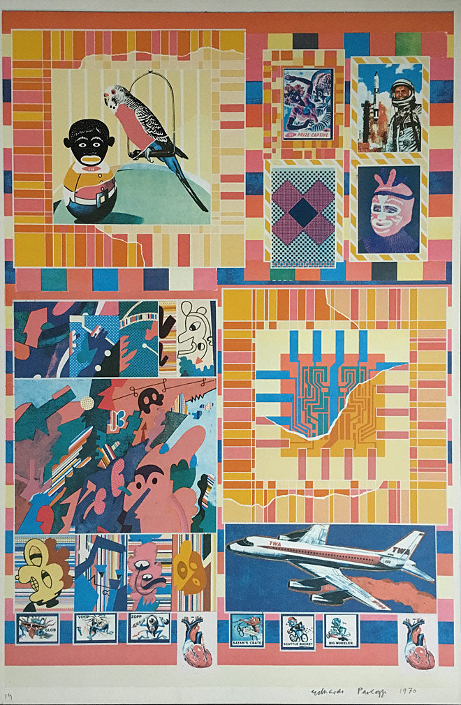 Eduardo Paolozzi Signs of Death and Decay in the Sky