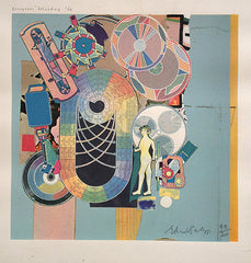 Eduardo Paolozzi Designers Saturday, 1986