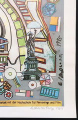 paolozzi signed poster