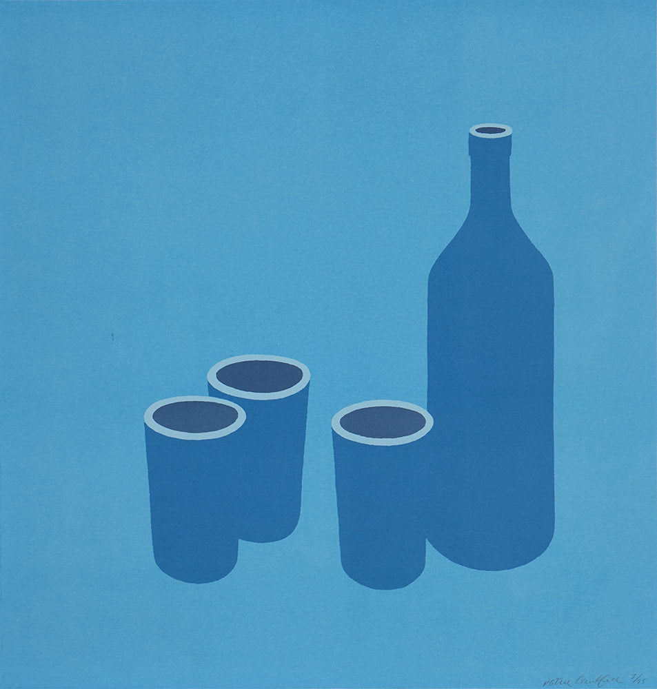 Patrick Caulfield Bottle and Cups 1966
