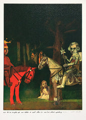 Peter Blake, Alice Through Looking Glass, Knights