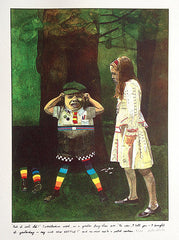 Peter Blake, Tweedledum, Alice