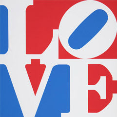 Robert Indiana signed LOVE prints