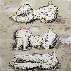 signed henry moore prints