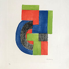 Sonia Delaunay lithographs