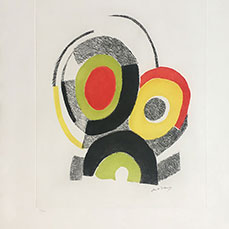 Sonia Delaunay signed prints