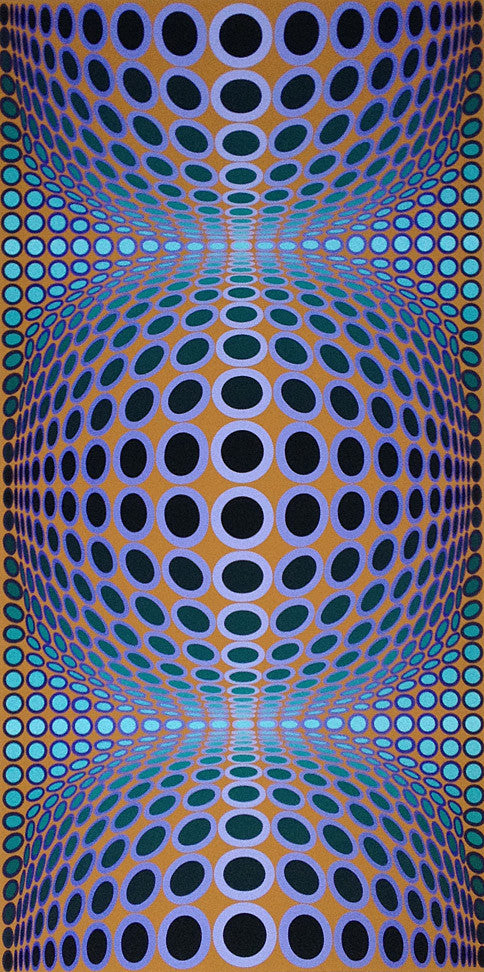 Vasarely original signed print uk