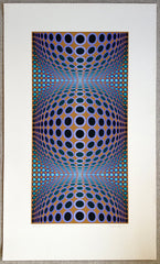 Victor Vasarely original print for sale
