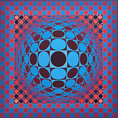 victor vasarely prints uk
