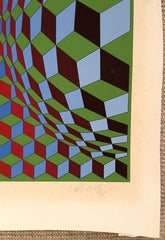 Victor Vasarely signature